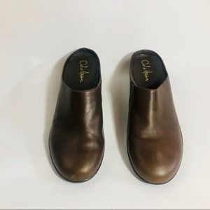 Cole Haan | Brown Leather Slip on flats | size 11